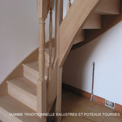 ESCALIERS DE FRANCE - Bernay - Escalier Balustre Bois