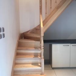 ESCALIERS DE FRANCE - Bernay - Escalier frêne