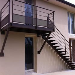 ESCALIERS DE FRANCE - Bernay - Escalier d'extérieur