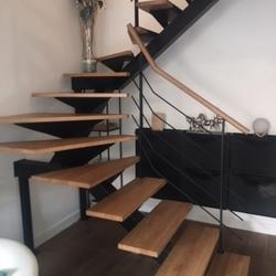 escalier suspendu - Escaliers de France - Bernay