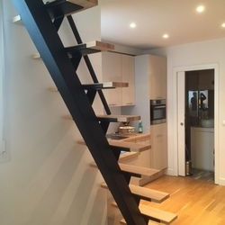 escalier droit-Escaliers de France - Bernay