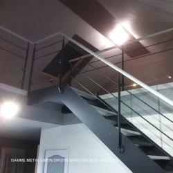 ESCALIERS DE FRANCE - Bernay - ESCALIER LIMON DROIT OU CRÉMAILLÈRE