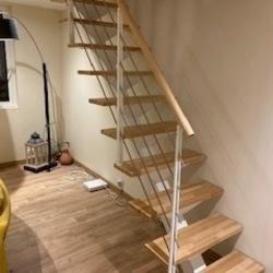 L'escalier métal du mois !