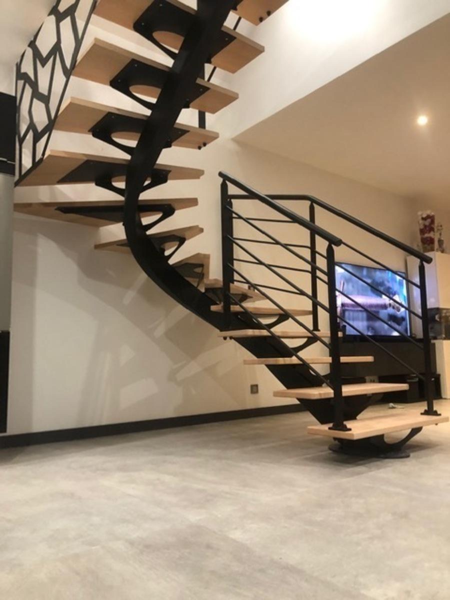 La qualité exceptionnelle d'un escalier design en Normandie
